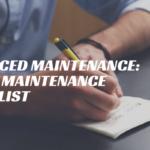 Advanced Maintenance: Truck Maintenance Checklist