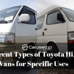 Different Types of Toyota HiAce Vans for Specific Uses