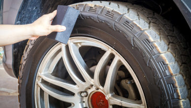 How to remove Thick Dust from Your Wheel Brakes