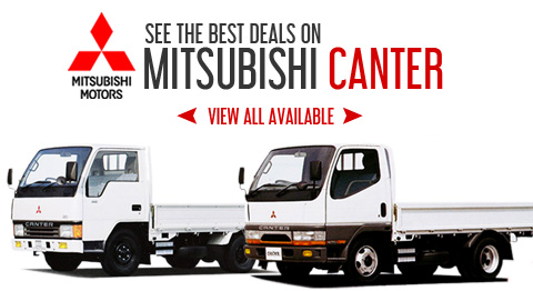 Check Price of Mitsubishi Canter