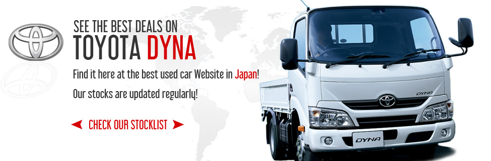 Toyota Dyna Trucks And Toyoace Japanese Used Trucks For