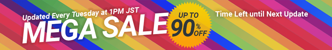 THIS WEEK MEGA SALE - UP TO 90% OFF