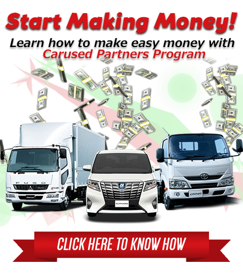 Earn money easy! Get up to $150 per referral | Carused jp
